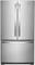 "Whirlpool 36"" Fingerprint Resistant Stainless Steel French Door Counter Depth Refrigerator"