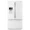Whirlpool White French Door Bottom Freezer Refrigerator