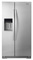 Whirlpool 26 Cu. Ft. Stainless Steel Side By Side Refrigerator