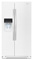 Whirlpool 26 Cu. Ft. White Side-By-Side Refrigerator