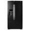 Whirlpool Black Ice Side-By-Side Counter Depth Refrigerator
