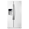 Whirlpool White Ice Side-By-Side Counter Depth Refrigerator