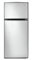Whirlpool 16 Cu. Ft. Monochromatic Stainless Steel Top Freezer Refrigerator