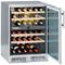 "Liebherr 24"" Stainless Steel Free Standing Wine Refrigerator"