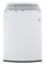 LG Mega Capacity White High Efficiency Top Load Washer