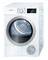 "Bosch 24"" 500 Series White Condensation Electric Dryer"