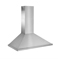 "Best 42"" Brushed Stainless Steel Wall Mount Chimney Hood"