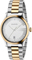 Gucci G-Timeless 38mm Two-Toned Stainless Steel Mens Watch