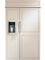"Monogram 48"" Custom Panel Built-In Side-By-Side Refrigerator"