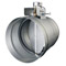"""GE 8"""" Stainless Steel Universal Automatic Make-Up Air Damper Duct"""