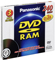 Panasonic 3 Pack 9.4GB Double-Sided DVD-RAM Disc