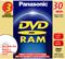 Panasonic Three Pack Of Single-Sided 30 Minute DVD-RAM Discs