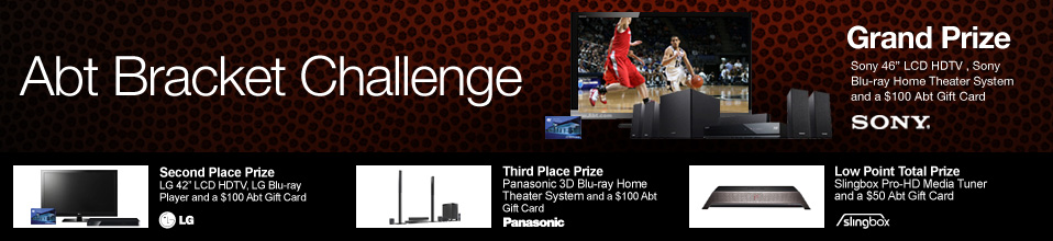 Abt Electronics Bracket Challenge Contest