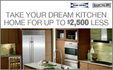 Sub-Zero Wolf - Receive up to a $2500 Instant Rebate with the purchase of multiple qualifying Appliances. Expires: 9-30-13
