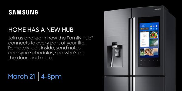 Samsung Family Hub Event