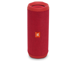 JBL Flip 4 Red Wireless Portable Stereo Speaker - JBLFLIP4REDAM