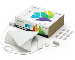 Nanoleaf Aurora Rhythm 9 Panel Smarter Kit - NL28-2003TW-9PK