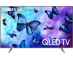 Samsung 55 Inch Q6FN Eclipse Silver QLED 4K UHD Smart HDTV - QN55Q6FNAFXZA
