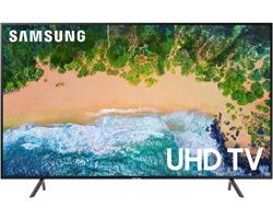 Samsung 50 Inch Charcoal Black UHD 4K HDR LED Smart HDTV - UN50NU7100FXZA