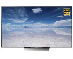 Sony 75in Black Ultra HD 4K LED HDR Smart HDTV - XBR75X850D
