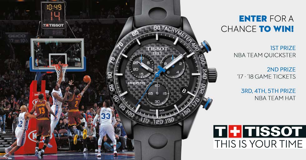 Tissot Basketball Contest At Abt
