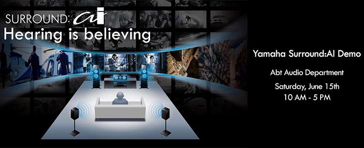 June 15th: Yamaha Surround: AI Demo