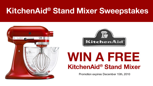 KitchenAid Stand Mixer Promo