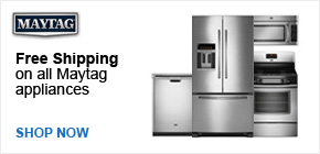 Free Shipping on Maytag Appliances