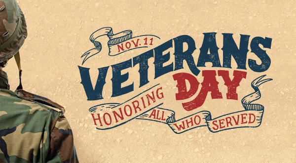 Abt's Weekly Newsletter - Thank You To Our Veterans - 11/11