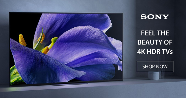 Abt's Weekly Newsletter - Feel The Beauty Of Sony 4K HDR TVs - 01/15