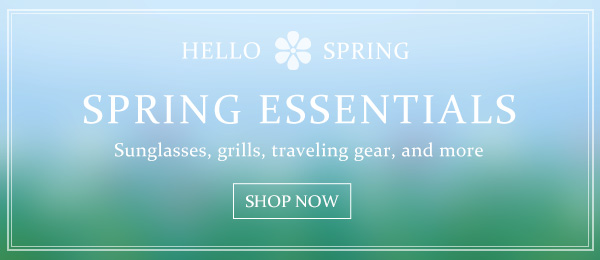 Abt's Weekly Newsletter - Spring Essentials - 03/12