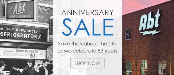 Abt's Weekly Newsletter - Save For Our Anniversary Sale - 05/04