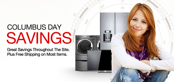 Columbus Day Sale - Great Savings Throughout The Site