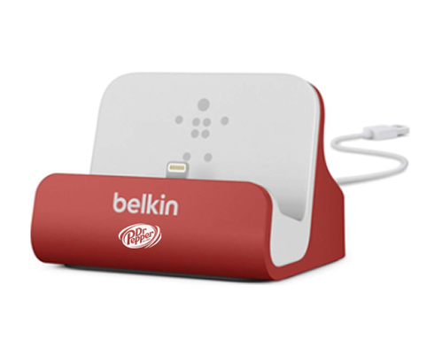 Dr Pepper on Belkin Charging Dock