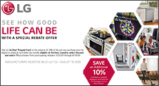 LG Appliances Bundle Savings