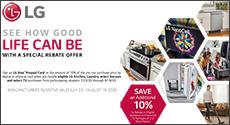LG Appliances Bundle Savings