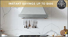 Bertazzoni Instant Savings Up to $600