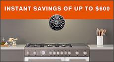 Bertazzoni Instant Savings Up to $600