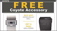 Coyote Free Pellet Grill Cover