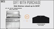 DCS Bonus Gift Free Side Shelves up to $578