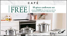 Cafe Free 10-piece Cookware Set Rebate