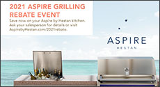 Hestan Aspire Grilling Rebate Event 2021