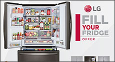 LG Fill Your Fridge Offer