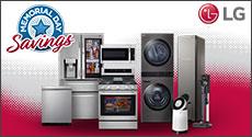 LG Appliance Bundle Memorial Day Savings - 5% or 10%