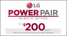 LG Power Pair $200 Rebate Offer