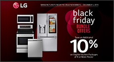 LG - Save an extra 10% when you bundle eligible LG Kitchen Major Appliance. Expires: 12-05-19