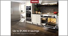 Miele Up to $1,400 in Savings