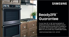 Samsung Ready2Fit Built-In Appliance Guarantee