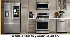Samsung Save 10% Off on Kitchen Appliance Package