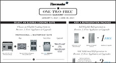 Thermador ONE-TWO-FREE Sales Event
